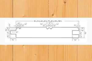 pattern pine paneling